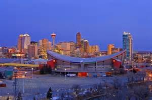 Used Calgary Saddledome Picture City Of Calgary Alberta Photo