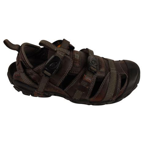 cat sandals mens caterpillar cat equinox brown leather sandal walking