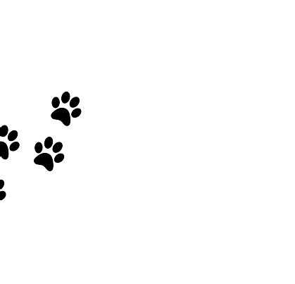 black paws clip art vector clip art online royalty free