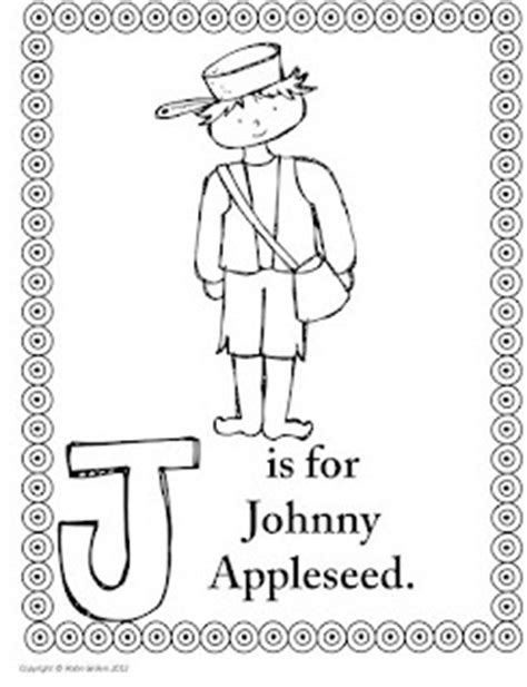 Sweet Tea Classroom Johnny Appleseed Activities Johnny Appleseed Coloring Pages