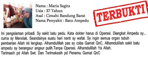 Qnc Jelly Gamat Di Karawang obat penghancur batu empedu tanpa operasi