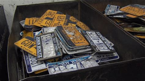 Ny Dmv Vanity Plates by Nys Dmv To Replace Peeling License Plates For Free Wham