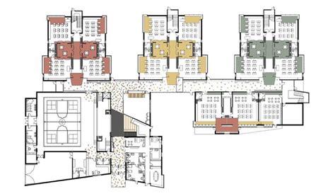 school floor plan elementary school building design plans greenman