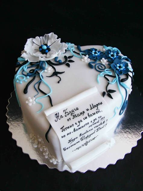 anniversary cake idea   letter cakes party