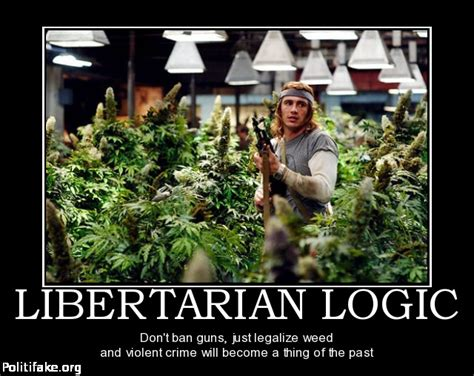 Libertarian Meme - targeting libertarians with clever humor and not so clever