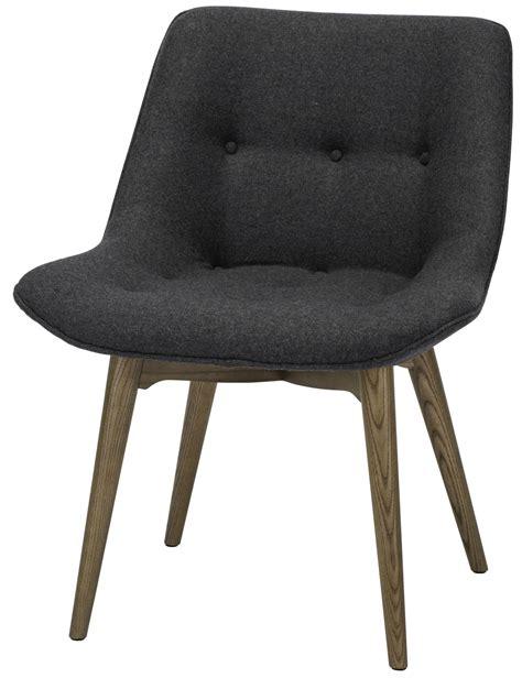 Dining Chairs Grey Brie Grey Fabric Dining Chair Hgem642 Nuevo