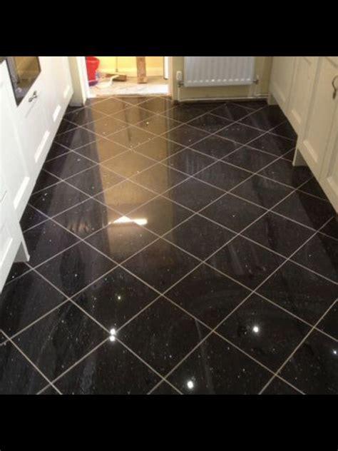 Granite bathroom floor  Very hard stone containing