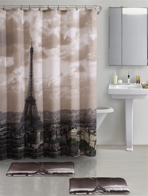 eiffel tower bedroom curtains eiffel tower shower curtain furniture ideas