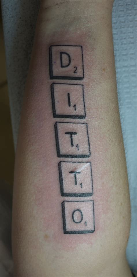 scrabble tattoo design list of synonyms and antonyms of the word scrabble tattoos