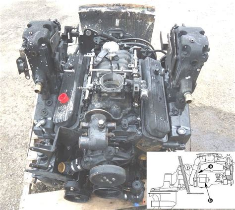 Mercury Mercruiser Marine Engines Gm V 8 305 Cid 5 0l