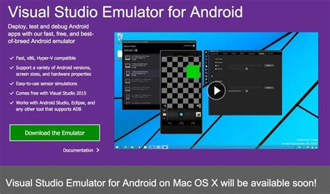 iphone emulator for android visual studio emulator for android bient 244 t disponible sur mac