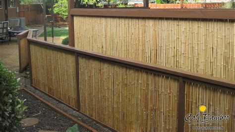 uncategorized cool bamboo fencing design bamboo rolled