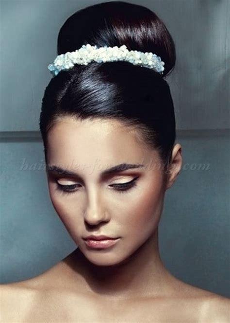 black hairstyles high buns brides with high updos high bun wedding hairstyle