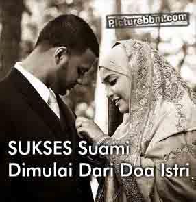 dp bbm kesuksesan  suami dimulai  doa istri