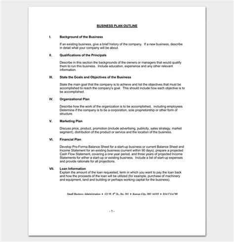 presentation outline template 19 formats for ppt word