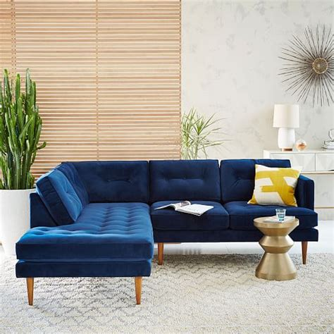 west elm peggy sofa peggy mid century terminal chaise sectional west elm