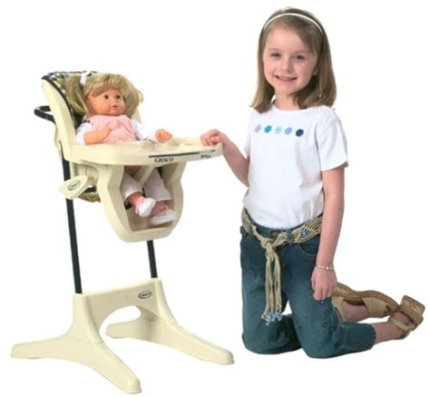 Graco Doll High Chair Set by Toys Store Categories Dolls Doll Accessories