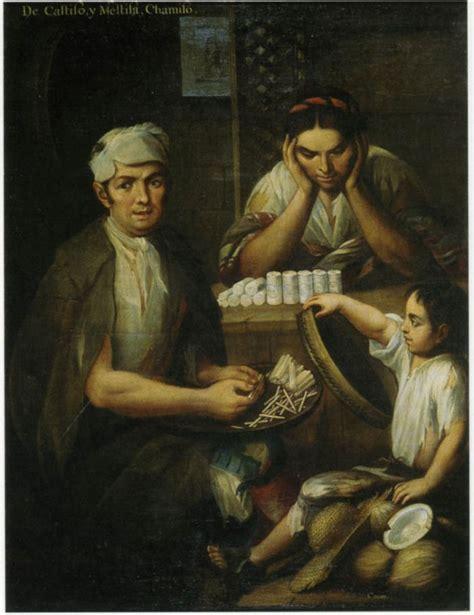mestizo castas de pinturas pintura de castas miguel cabrera imagenes latinas
