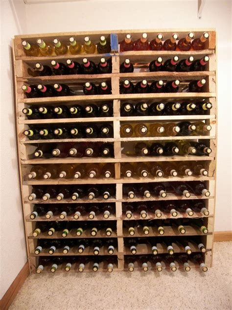 how to build a wine rack in a kitchen cabinet diy pallet wine rack i am building this asap but i