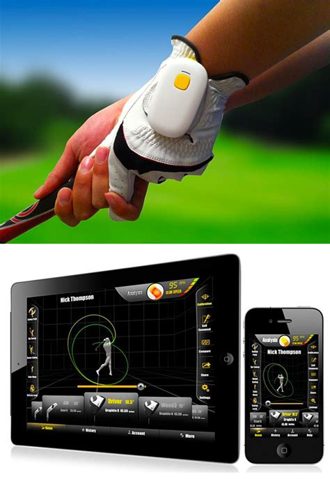 swing analyser brand new golfsense 3d golf swing analyzer motion sensor