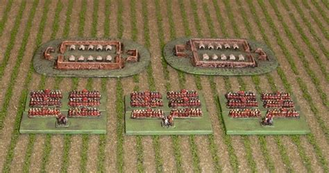 Wab Corner Irregular Miniatures 2mm Rep Romans And