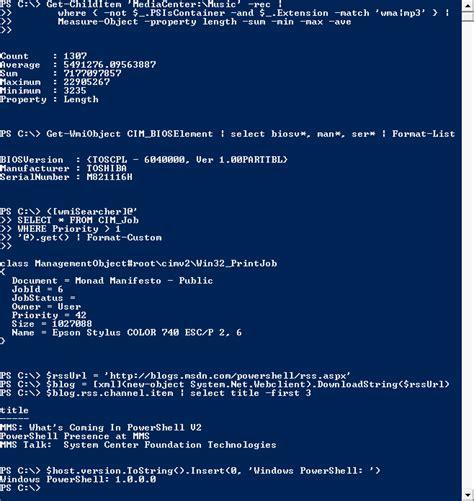 windows 10 powershell tutorial powershell wikipedia
