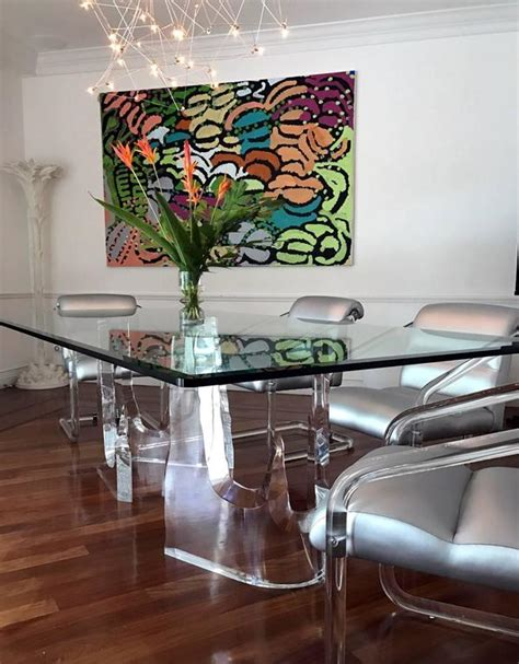 Iceberg Dining Room by Lucite Iceberg Quot Dining Table By Stephen K Frye For