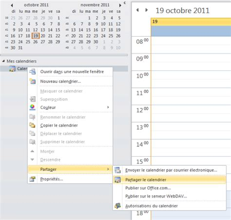 Calendrier Outlook 2013 Guide Partager Un Calendrier Outlook Openhost