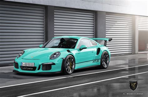 porsche 911 gt3 rs green porsche 911 gt3 rs by porsche exclusive rendered