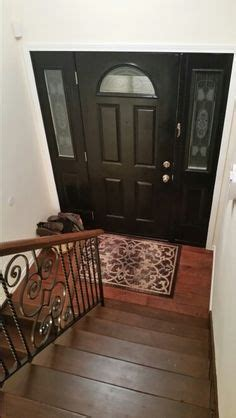 fixer foyer ideas split level entry design tile floor entryway