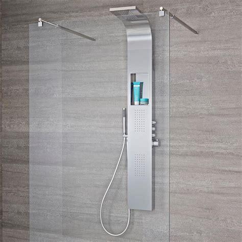 pannello doccia termostatico pannello doccia termostatico a 3 vie con soffione a