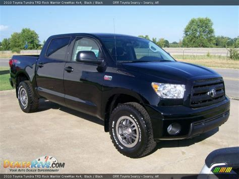 2010 Toyota Tundra Rock Warrior Specs 2010 Toyota Tundra Trd Rock Warrior Crewmax 4x4 Black