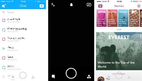 Home Design App Android snapchat overhauls ui gsmarena blog