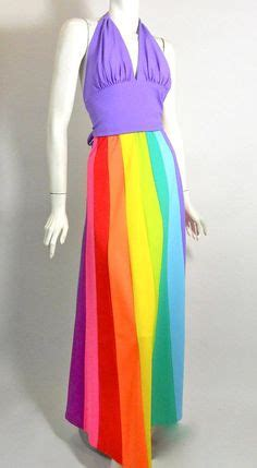 Dv Set Maxi Violet Jersey 422 best rainbow everything ೨ 80s images on