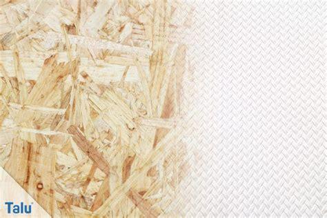 osb platten grundieren osb platten tapezieren anleitung wichtige tipps talu de