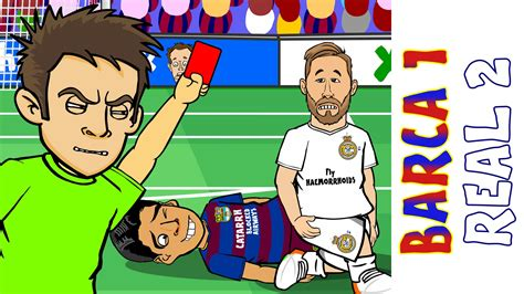 ronaldo juventus 442oons barcelona vs real madrid 1 2 el clasico 2016 ronaldo goal sergio ramos card goals