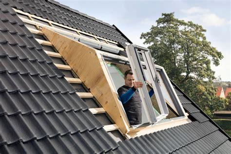gaube und dachfenster vereint bauhandwerk