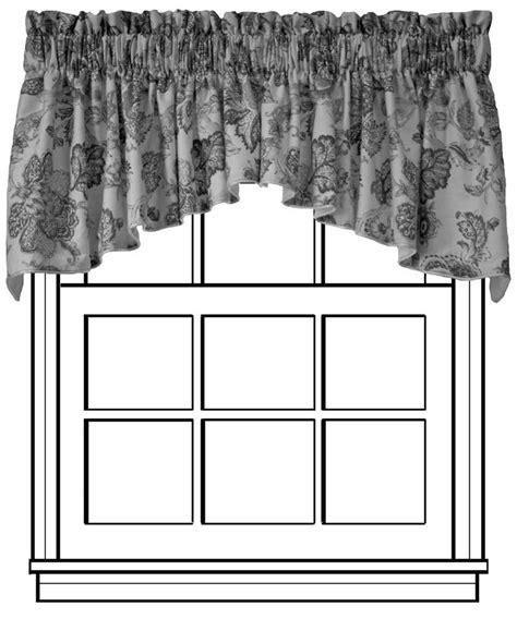 crescent window coverings custom crescent valance d