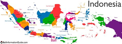 map indonesia where is bali indonesia detailed maps of the island of region
