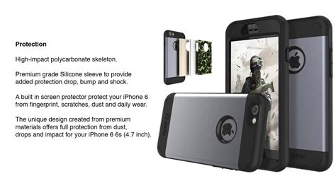 iphone  totu rugged water resistant case cover youtube