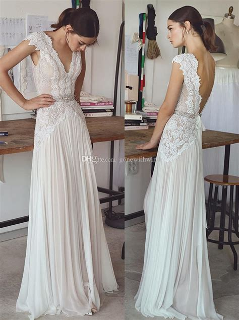 vintage lace beaded wedding dresses  simple