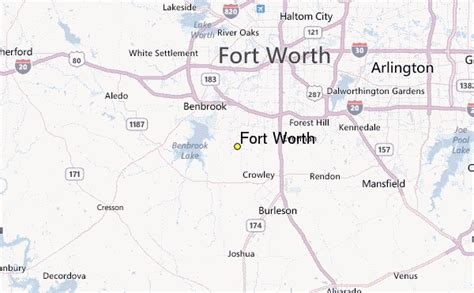 where is fort located in texas map fort worth weather station record historical weather for fort worth texas