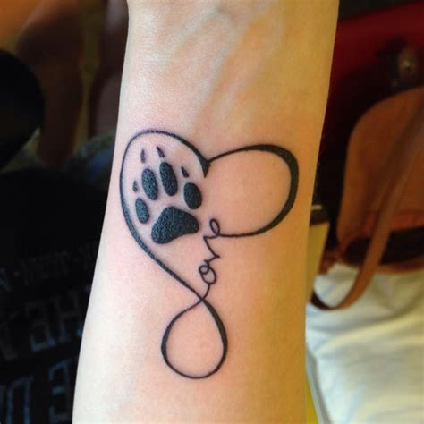 tattoo design printer wolf paw print pictures to pin on pinterest tattooskid