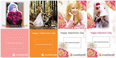 Crunchyroll Premium Gift Card - valentine s day gift guide for the geeky gal super ronnie s blog of awesome