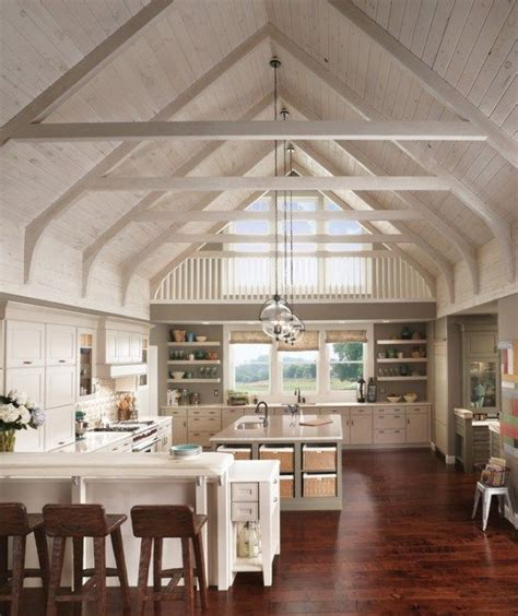 Kitchens With Vaulted Ceilings by Vaulted Ceiling Kitchen
