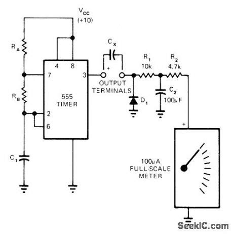 digital capacitor meter circuit diagram index 807 circuit diagram seekic
