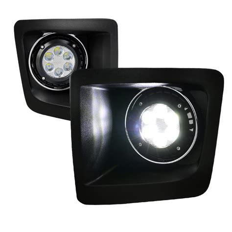2014 gmc lights 2014 2016 gmc 1500 led powered fog lights clear
