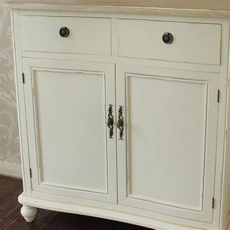 The Cottage Cupboard by Cottage Country Two Door Cupboard With Drawers