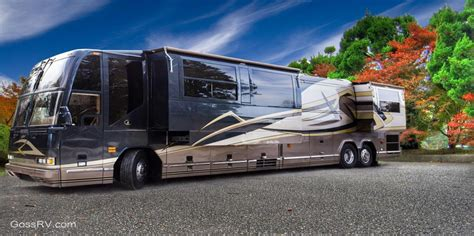 luxury motor homes goss rv luxury motorhome rentals in 49 states