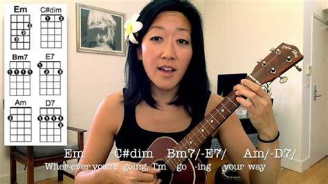 tutorial ukulele moon song 56 best ukulele cynthia lin images on pinterest music